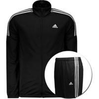 Agasalho Adidas Mts Team Sports - Masculino-Preto