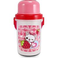 Squeeze 450Ml Infantil Jacki Design Feminino - Feminino-Rosa