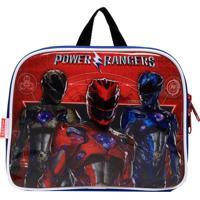 Lancheira Sestini Power Rangers Azul