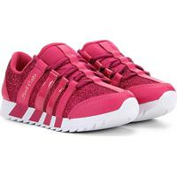 Tênis Infantil Pink Cats Tiras Gliter Feminino - Feminino-Pink