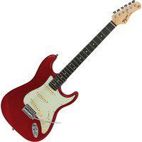 Guitarra Elétrica Tagima Stratocaster Tg-500 Madeira Vermelha