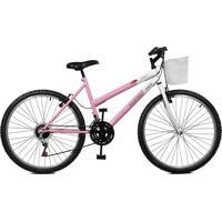 Bicicleta Master Bike Aro 26 Feminina Serena Plus Rosa