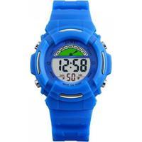 Relógio Infantil Skmei Digital Masculino - Masculino-Azul