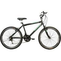 Bicicleta Mega Bike Thunder Sport Gold Aro 26 Freios V-Break Quadro Aço 21V - Unissex