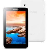 """Tablet Lenovo Tab A7 A3300-Gv - Tela De 7"""" - Quad Core - 8Gb - Câmera De 2Mp - Wi-Fi - Android 4.4"""