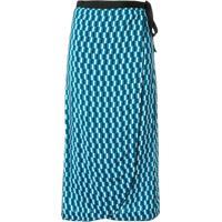 Cefinn Saia Envelope Com Estampa Geométrica - Azul