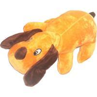 Brinquedo Doguinho- Bege & Marrom- 10X5Cm- 4 Pat4 Patas