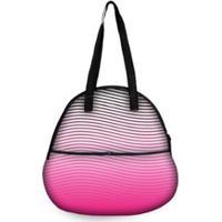 84d155a07 ... Bolsa Concha Fitness Com Bolso Pink Beach - Feminino