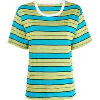 Marni Striped T-Shirt - Verde