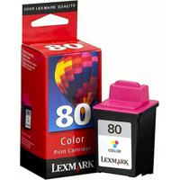 Cartucho Tinta Lexmark N.80 C40/3200 Color - 12A1980