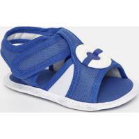 Papete Com Recortes- Azul Royal & Branca- Baby- Tico Baby