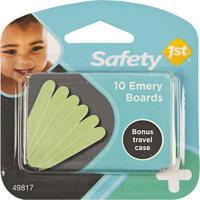 Kit Com 10 Lixas De Unha Para Bebê - Safety 1St S49817 Kit Com 10 Lixas De Unha Para Bebê