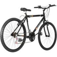 Bicicleta Aro 26 Aço Carbono 18 Marchas V Brake Ultra Bikes - Masculino