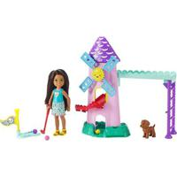 Boneca Barbie - Conjuntos Da Chelsea - Campo De Golf - Mattel