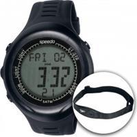 Monitor Cardíaco Com Cinta Speedo 58011G0Eg - Preto