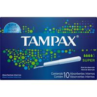 Absorvente Interno Tampax Super - 10 Unidades - Kanui