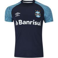 Camisa De Treino Do Grêmio 2018 Umbro - Masculina - Azul Escuro c46d1f3f6b83b