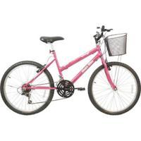 Bicicleta Mega Bike Rosy Sport Aro 26 Freio V-Break Quadro Aço - Unissex