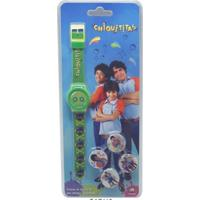 Relógio Chiquititas Troca Mostrador Digital Verde Jk Colorido