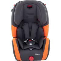 Cadeira Para Automóveis Evolve- Cinza & Laranja- Atédorel