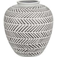 Vaso Mart Em Cerâmica Branco
