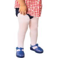 Meia Calça Bebê Menina Fio 40
