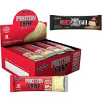 Protein Crisp Bar 12 Barras + 1Un Whey Darkness Bar - Integralmédica - Unissex