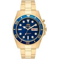 Relógio Orient Automático - Masculino-Dourado