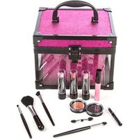 Maleta De Maquiagem Clear Pink Fenzza 1 Un - Feminino-Incolor