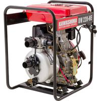 Motobomba Alta Pressão Kawashima Dw220He 2Pol Partida Elétrica Diesel