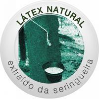 Travesseiro De Látex Natural Capa 100% Algodão 45X65Cm Duoflex