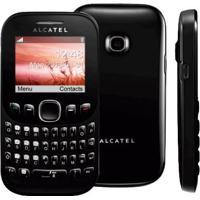 Celular Alcatel Ot 3000 - Preto - Tri-Chip - Câmera Vga - Rádio Fm - Mp3