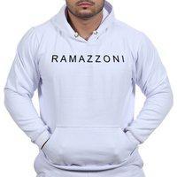 Moletom Blusa De Frio Ramazzoni In Line Marca Famosa Branco