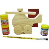 Kit Kits For Kids Mini Helicóptero Multicolorido - Kanui