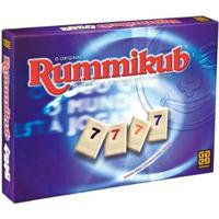 Jogo Rummikub Tabuleiro - Unissex-Roxo