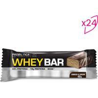 Whey Bar®- Cookies- 24 Unidades- Probióticaprobiotica