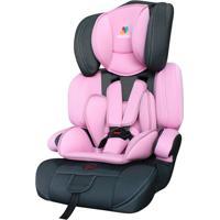 Cadeira Para Carro Allegra - Rosa Claro & Cinza Escuro