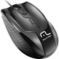 Mouse Multilaser Profissional 1600 Dpi 6 Botões Usb Mo164 - Unissex