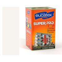 Tinta Super Pro Acrílico Fosco 18 Litros Branco - Eucatex - Eucatex