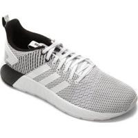 Tênis Adidas Questar Byd M Masculino - Masculino-Branco+Preto