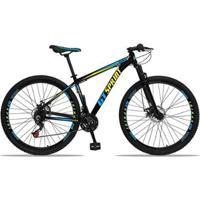 Bicicleta Aro 29 Gt Sprint Mx1 Alumínio Freio A Disco E Suspensão - Unissex