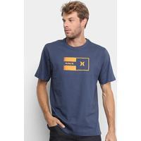Camiseta Hurley Radio Masculina - Masculino-Marinho