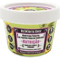 Máscara De Nutrição Lola Cosmetics Be(M)Dita Ghee Abacaxi E Manteiga De Bacuri 100G - Unissex-Incolor
