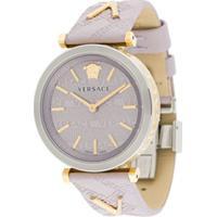 Versace Relógio V-Twist 36Mm - Rosa