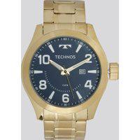 Relógio Analógico Technos Masculino - 2115Mgq4A Dourado