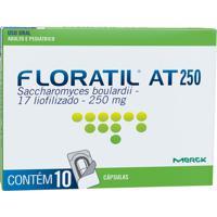 Floratil At 250Mg Natulab 10 Cápsulas