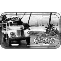 Placa De Metal Coca Cola Caminhão Visão Frontal Vintage Placa Decorativa De Metal Coca Cola Caminhão Paisagem Retrô