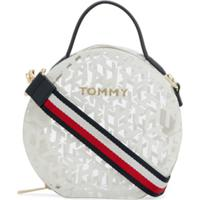 Tommy Hilfiger Tommy Icons Transparent Crossbody Bag - Neutro