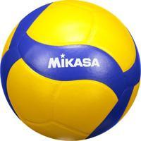 Bola De Vôlei Mikasa V390W Amarela E Azul