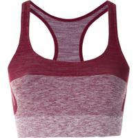 Track & Field Top Skin Com Logo - Vermelho